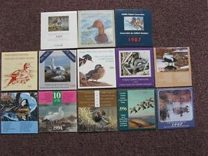 Canadian Duck stamp booklets 1985-2012 Kitchener / Waterloo Kitchener Area image 2