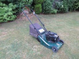 Hayter Harrier 41 Lawnmower (Assisted Drive & Lawn Tracker)