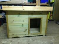 Insulated dog kennel, box, house