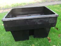 """Plastic Water Tank Approx Size 29"""" X 20"""" X 20"""" high"""