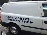 Astra diesel van for parts