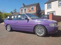 1994 ford escort cabriolet (not convertible classic vauxhall bmw audi nissan volkswagon lexus )