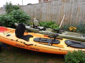 2 fishing Kayaks up for SWAPS
