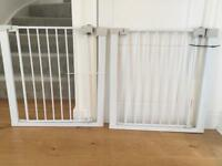 2 x BABY GATES BY SECURE TECH METAL