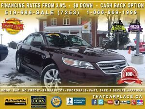 2011 Ford Taurus SEL-$61/Wk-Bluetooth-RearSens-Htd Sts-Cruise-US
