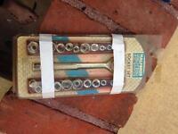 Halfords socket set new in pack