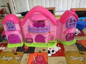 Girls play house