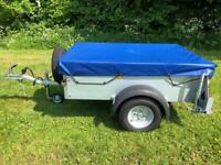 2016 Ifor Williams 1Hu P5e Trailer Camping Carboot Garden Tip Trailor DIY 500 KG