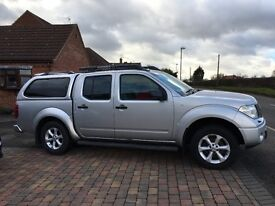 Nissan Navara Adventura 56 plate, New hard top fitted last summer. Good condition for year.