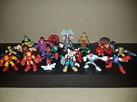 Imaginext / Playskool Heroes figures - Marvel & Others x 20