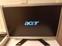 Acer X243W LCD monitor for £10