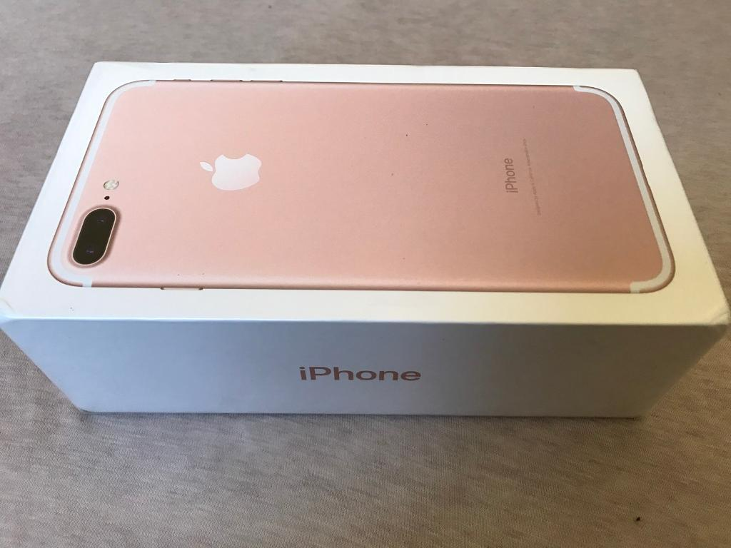 iphone 7 plus rose gold 128 gb in acton london gumtree. Black Bedroom Furniture Sets. Home Design Ideas