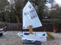 Optimist dinghy