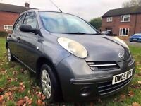 2005 NISSAN MICRA S 5 DOOR 1.2 78K MILES, MOTED, VERY CLEAN, HPI CLEAR