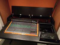 Toft Audio Designs ATB-24MB Mixing Desk w/Meter Bridge + Argosy Studio Unit