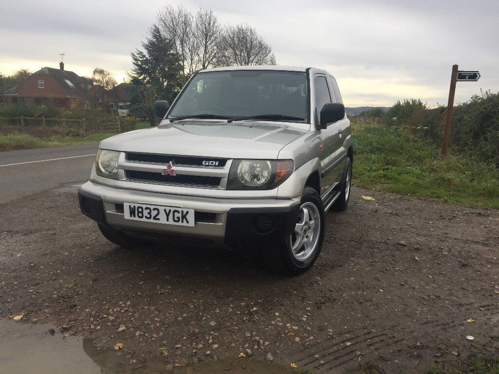 Mitsubishi Shogun Pinin - Only 62,000 miles and 10 Months Mot 4x4