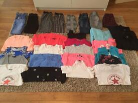 Girls huge clothes bundle age 10-11 new look, river island and more