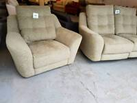 BRAND NEW G Plan Pip 2 Seater Recliner Sofa + 1 Seater Armchair RRP £2478 DELIVERY AVAILABLE