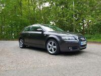 Audi A3 Sport 2.0 TDI Auto + Paddle Shift, FSH, Sat Nav, Low Mileage, 1 Previous Owner