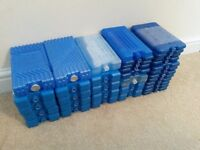 35 BRAND NEW ICE FREEZER BLOCKS 18 LARGE 400G 17 SMALL 200G