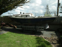 Mk11 Fin Keeled Corribee Sailing Boat project. (FREE)