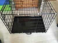 Large Fold Flat Pet Crate