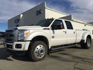 2016 Ford F-450 Platinum Fully Loaded F450 5th Wheel Prep