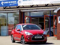 DS DS 3 1.6 BLUEHDi DSTYLE NAV 3dr *Sat Nav & Superb Economy* (red) 2016