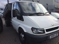 2004 04 FORD TRANSIT TIPPER 350 MWB LOVELY DRIVE GOOD CONDITION WILL COME WITH NEW MOT NO VAT !!!