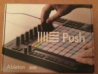 Original Ableton Push MIDI Controller - Boxed - Great Condition - Case Included