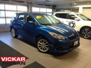 2010 Toyota Matrix XRS/LOCAL TRADE!!!