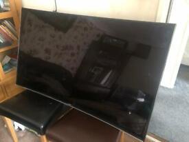 "Samsung 55"" 4K UHD Curved Smart 3D TV**"