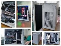 Gaming PC - Ryzen 5 3600, GTX1070, 32GB RAM, 1TB SSD, 4TB HDD...