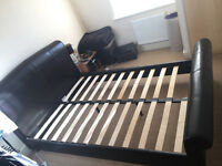 Double bed frame for sale (no mattress)