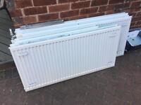 4 x double radiators