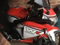 Wk250 SP motorbike