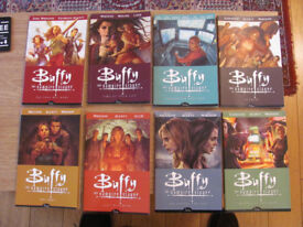 Buffy the Vampire Slayer season 8 graphic novels 1-8 for sale good condition