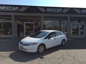 2012 Honda Civic DX 5 SPEED BASIC POWER WINDOWS 100K