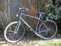 kona dew city hybrid,21.5 in alloy frame,new tyres,21 speed,runs well