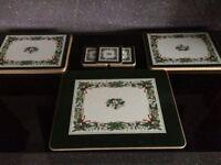 Selection of matching Christmas Table Mats