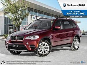 2013 BMW X5 35i Executive Comfort & Technology Comfort Seats!