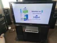 Panasonic 42 Viera Plasma TV Full HD 1080p TV with stand & remote, excellent working order