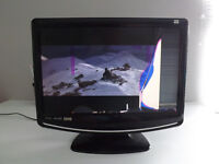 Logik 19'' Wide HD Ready LCD TV with Hybrid Tuner & DVD Player L19LID646