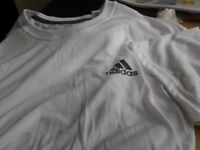 Adidas white 2xl tshirt new
