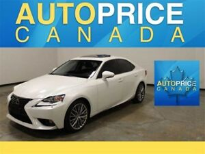 2014 Lexus IS 250 AWD|LEATHER|MOONROOF