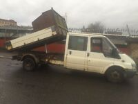 ford transit tipper,55 plate £1450 ono