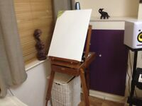 Folding Durable Tripod Wooden Painting Drawing Easel Display Stand