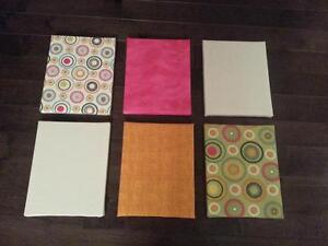 Fabric Canvases - Interchangeable