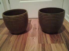 Homebase indoor planters