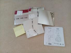 "MIRRORS: Ikea modular mirrors, stick on, sealed packs, 12"" x12"", 4pks x 4 & 1 loose"